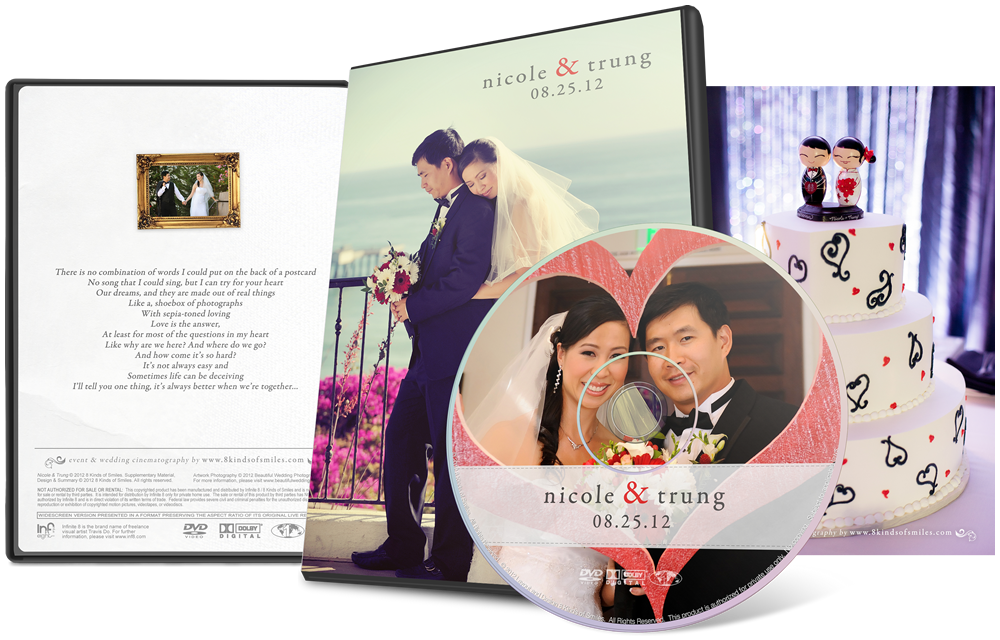 Nicole & Trung :: 8 Kinds of Smiles