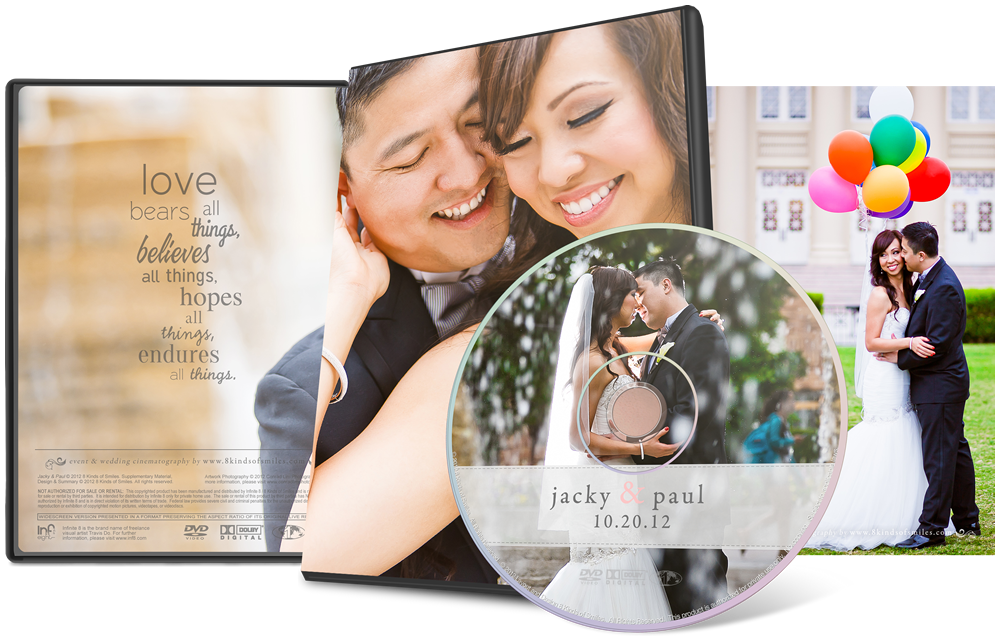 Jacky & Paul :: 8 Kinds of Smiles