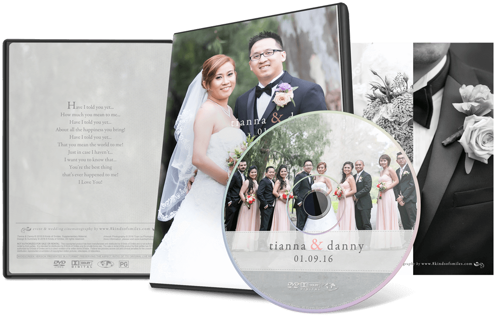 Tianna & Danny :: 8 Kinds of Smiles