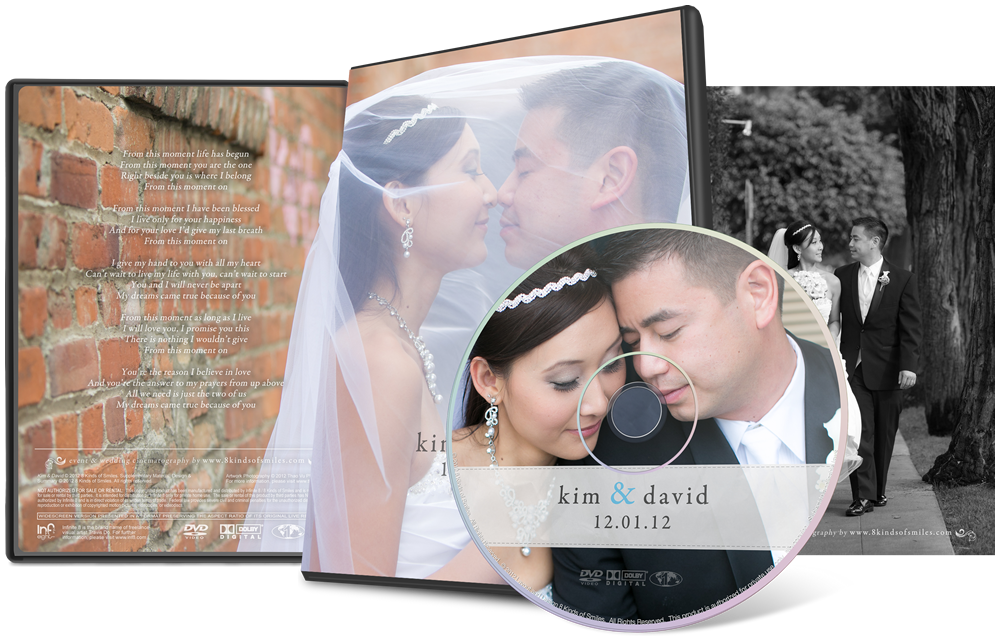 Kim & David :: 8 Kinds of Smiles