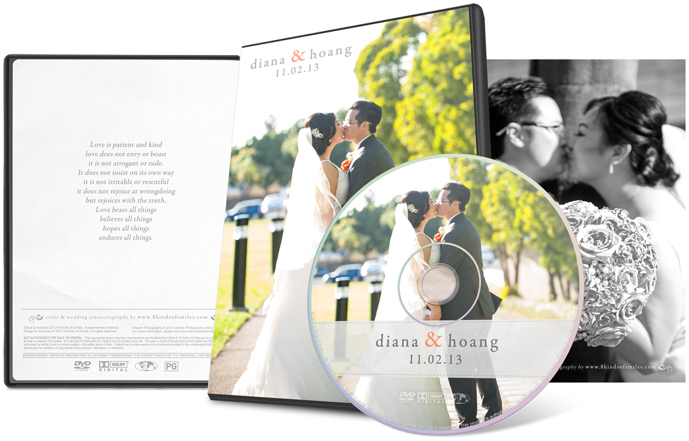 Diana & Hoang :: 8 Kinds of Smiles