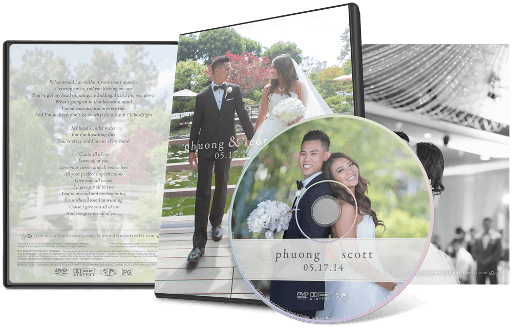 Phuong & Scott :: 8 Kinds of Smiles