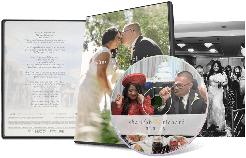 Sharifah & Richard :: 8 Kinds of Smiles