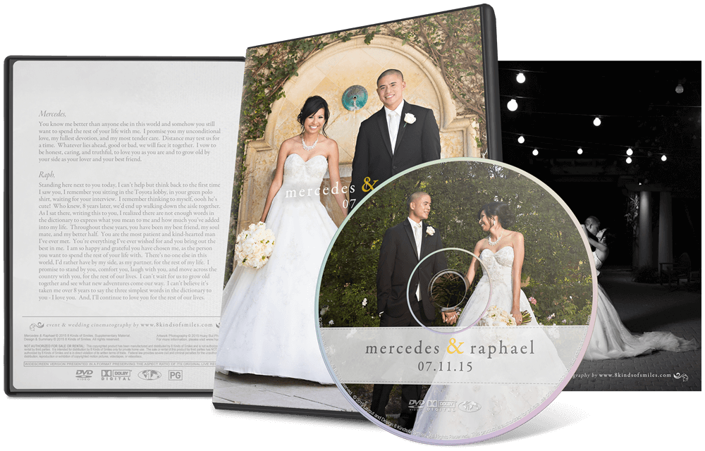 Mercedes & Raphael :: 8 Kinds of Smiles