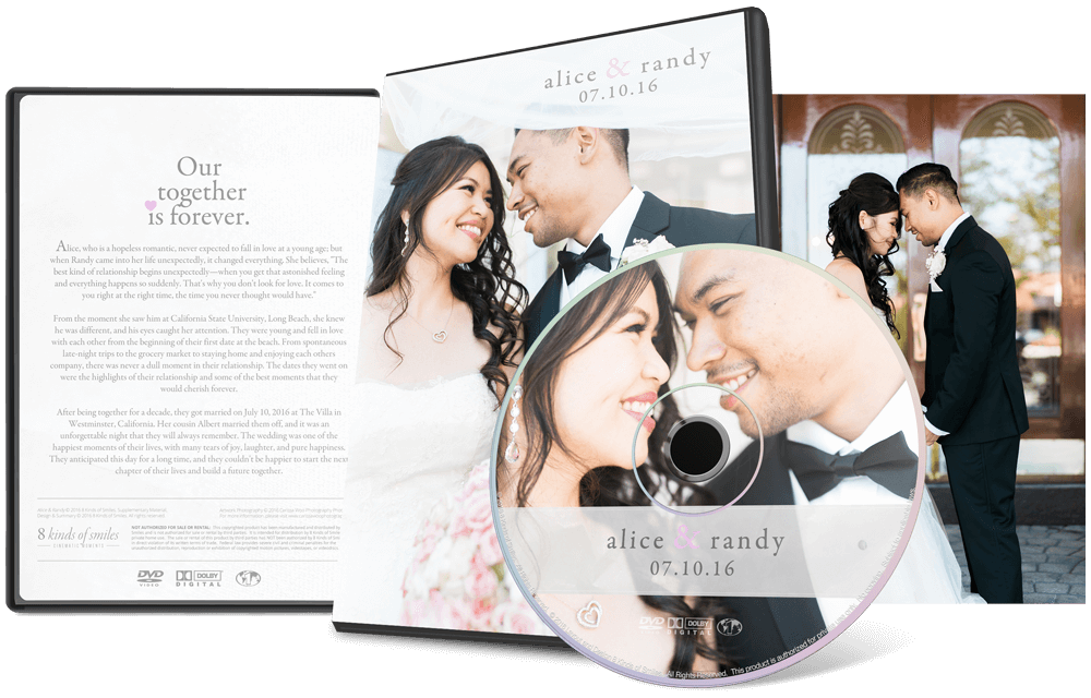 Alice & Randy :: 8 Kinds of Smiles